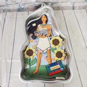 Vintage Disney Pocahontas Wilton Cake Pan 1995